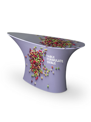 Formulate table ovale