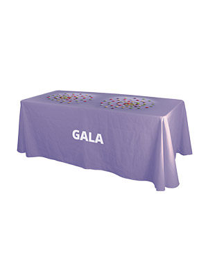 Table Gala avec option nappe