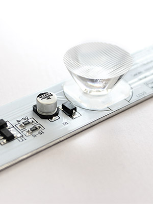 Eclairage tangentiel LED
