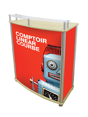 Comptoir Linear Courbe - Version Pro