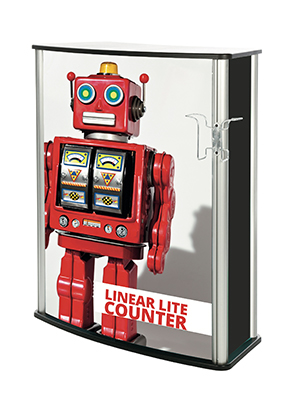 Comptoir Linear Lite avec option porte-doc