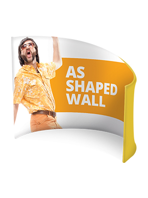 AS Shaped Wall