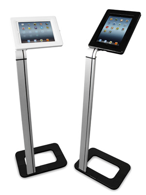 Ultima displays france porte tablette sur pied for Porte tablette